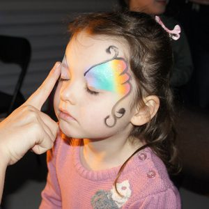 Free Face painting designs at madfun kids disco melbourne