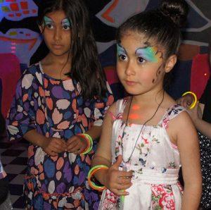 Beautiful Quality Face Painting at Madfun Kids Disco