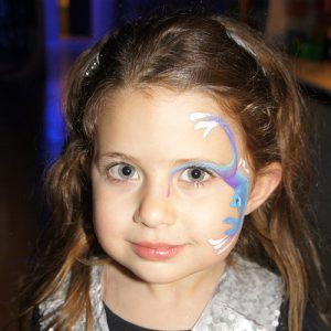Face Painting included in Madfun party price